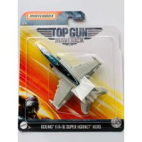 Matchbox Top Gun letadla Boeing F-A-18 Super Hornet Maverick