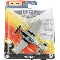 Matchbox Top Gun letadla P-51 Mustang Pete Maverick Mitchell