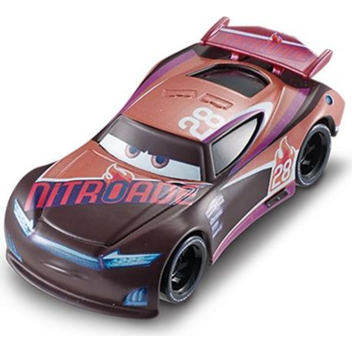 Mattel Cars 3 Auta Tim Treadless