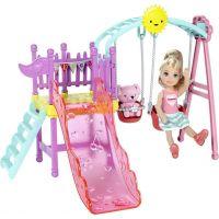 Mattel Barbie Chelsea a doplňky Dětské hřiště