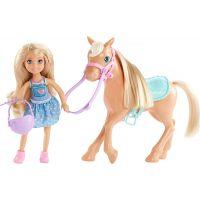 Mattel Barbie Chelsea a poník blond vlasy