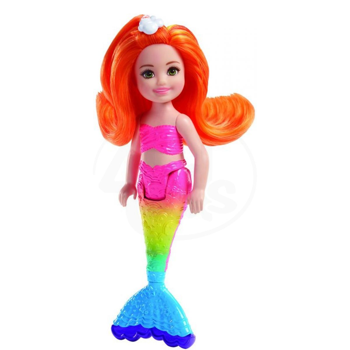 Mattel Barbie Chelsea Mořská panna Oranžové vlasy