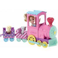 Mattel Barbie Chelsea s vláčkem