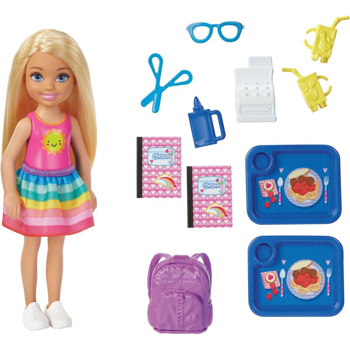 Levně Mattel Barbie Chelsea školička herní set