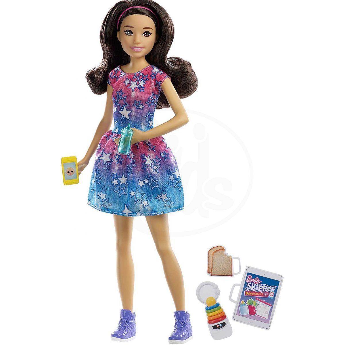 Mattel Barbie Chůva černovláska FXG93 1c113d7175