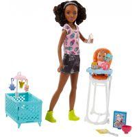 Mattel Barbie Chůva Herní set FHY99