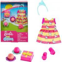 Mattel Barbie Club Chelsea oblečky a doplňky dárek a dortíky
