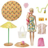 Mattel Barbie Color Reveal Panenka Pěna plná zábavy Ananas
