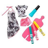 Mattel Barbie D.I.Y Crayola Batikování FPX13 zelený sprej