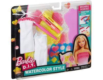 Mattel Barbie D.I.Y módní návrhářské šablony