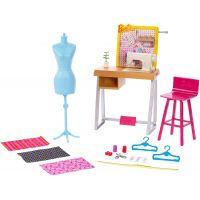 Mattel Barbie Dokonalé pracoviště Krejčovská dílna