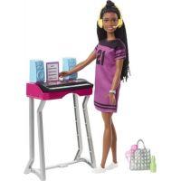 Mattel Barbie Dreamhouse herní set s panenkou brunetka Brooklyn