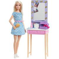 Mattel Barbie Dreamhouse herní set s panenkou blondýnky Malibu