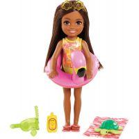 Mattel Barbie Dreamtopia Chelsea s doplňky na pláž černoška