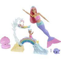 Barbie Dreamtopia herní set s mořskou vílou