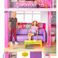 Mattel Barbie dům snů se skluzavkou - Poškozený obal 5
