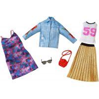 Mattel Barbie Dvoudílný set oblečení FKT38