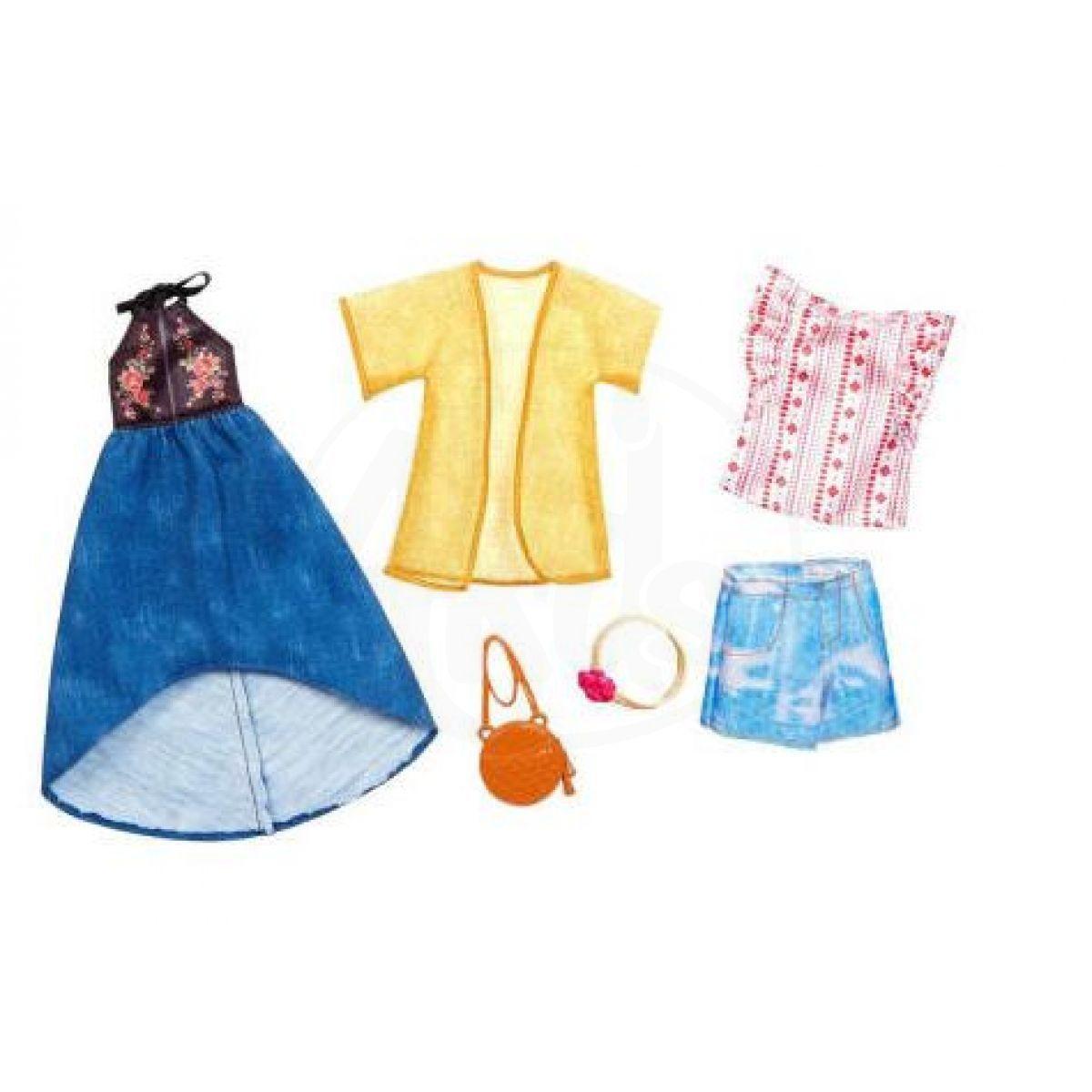 Mattel Barbie Dvoudílný set oblečení FKT40