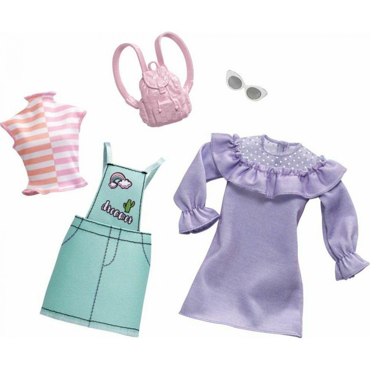Mattel Barbie Dvoudílný set oblečení FXJ64
