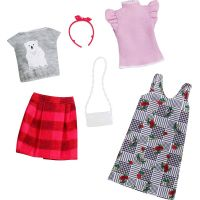 Mattel Barbie Dvoudílný set oblečení FXJ67