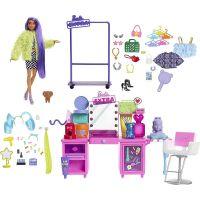 Mattel Barbie Extra šatník s bábikou herné set
