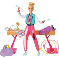 Mattel Barbie gymnastka herní set