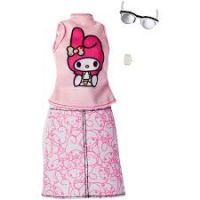 Mattel Barbie Hello Kitty Tématické oblečky a doplňky FKR69