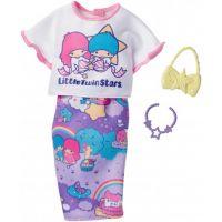 Mattel Barbie Hello Kitty Tématické oblečky a doplňky FKR70