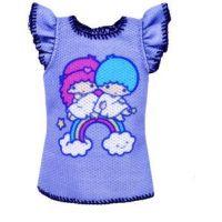 Mattel Barbie Hello Kitty Tématické oblečky FLP46