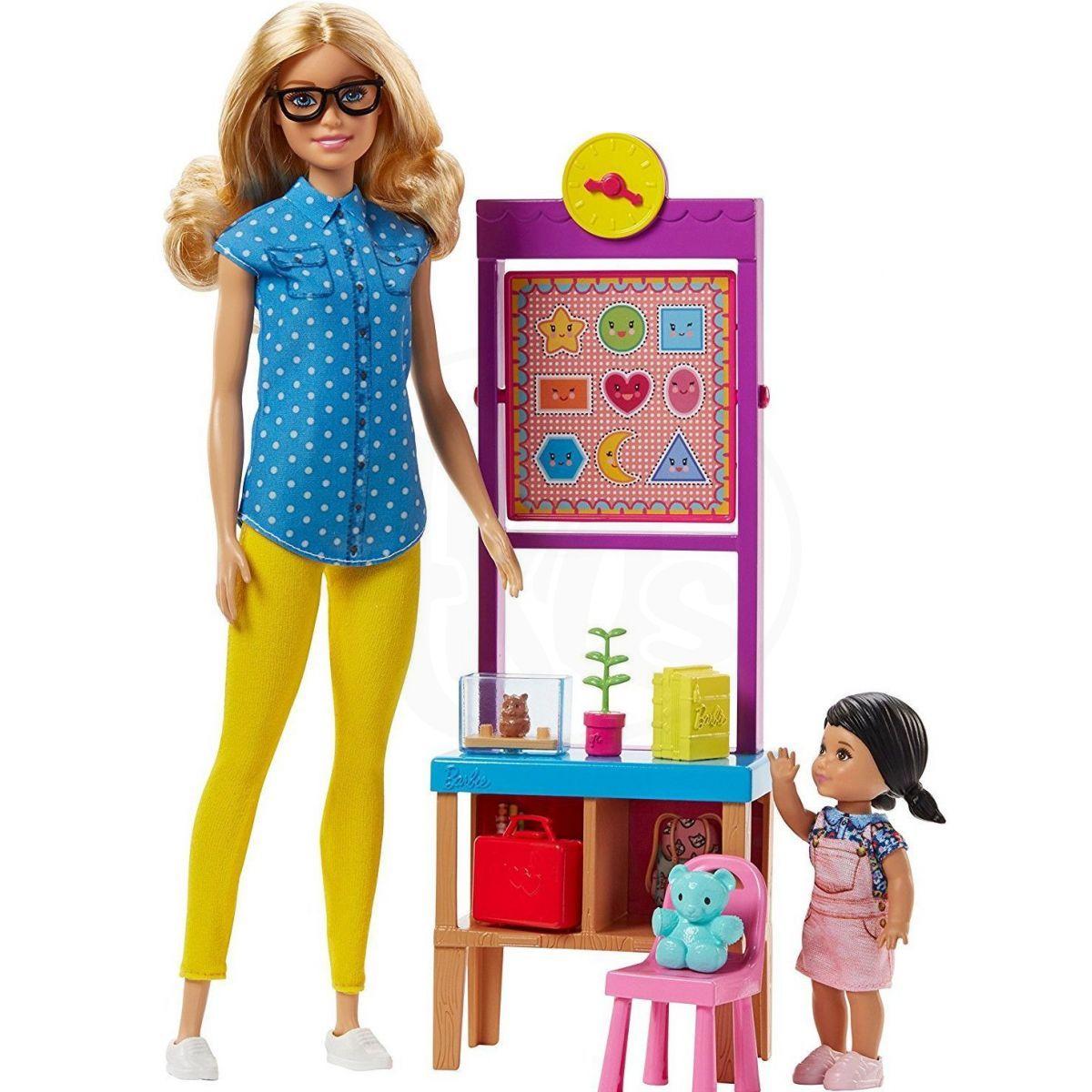 Mattel Barbie Herní set Povolání s panenkou Učitelka 60cbd217cb