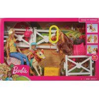 Mattel Barbie herní set s koníky 4
