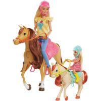 Mattel Barbie herní set s koníky 2