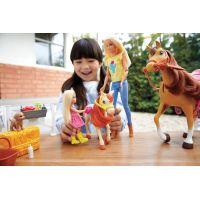 Mattel Barbie herní set s koníky 3
