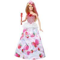 Mattel Barbie jahůdková princezna - Poškozený obal