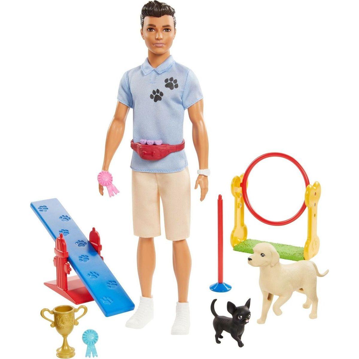Mattel Barbie Ken a povolání herní set Ken cvičitel pejsků