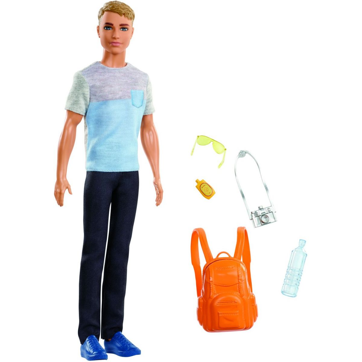 Mattel Barbie Ken cestovatel