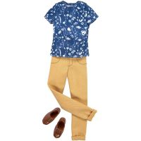 Mattel Barbie Kenovy oblečky Hnědé kalhoty