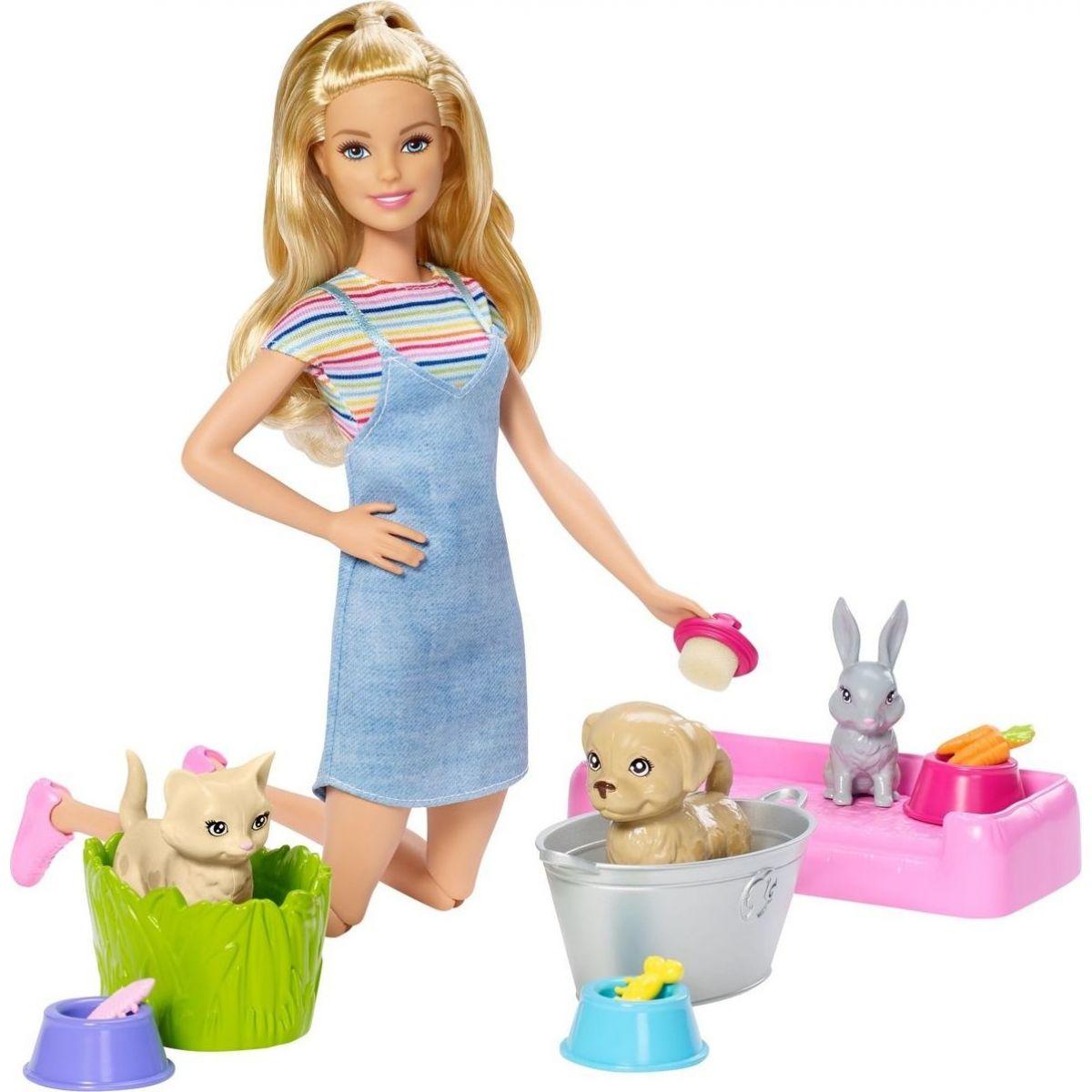 Mattel Barbie koupání zvířátek