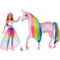 Mattel Barbie kouzelný jednorožec a panenka