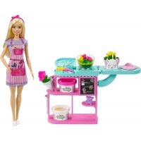 Mattel Barbie květinářka blondýnka