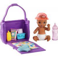 Mattel Barbie miminko herní set miminko s lahvičkou