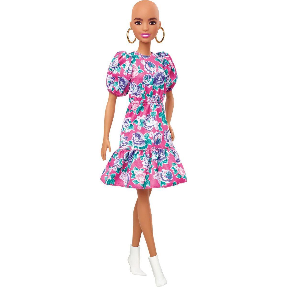 Mattel Barbie modelka panenka bez vlasů