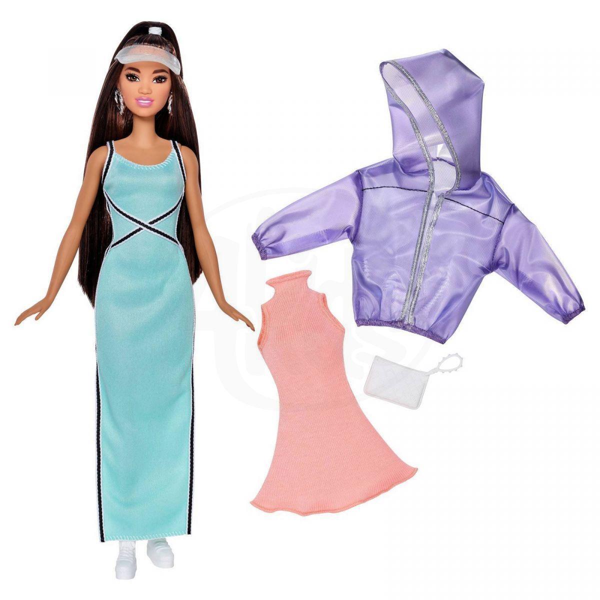MATTEL Barbie Modelka s oblečky a doplňky 86