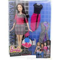 Mattel Barbie modelka s oblečky a doplňky 36 6