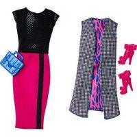 Mattel Barbie modelka s oblečky a doplňky 36 5