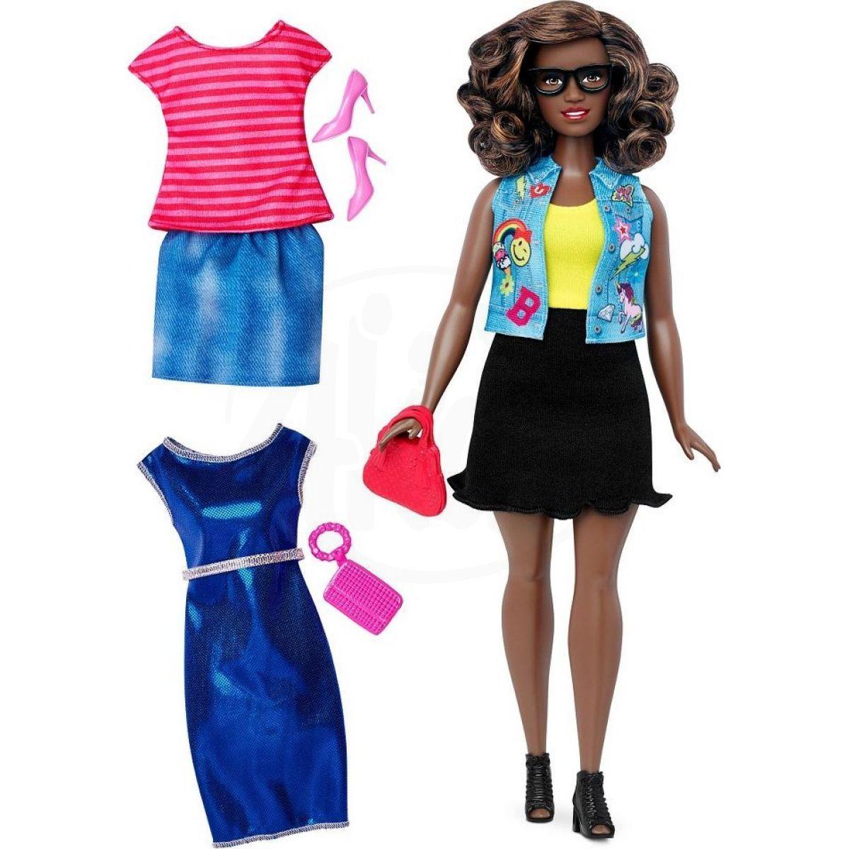8a5222a6764e Mattel Barbie modelka s oblečky a doplňky 39