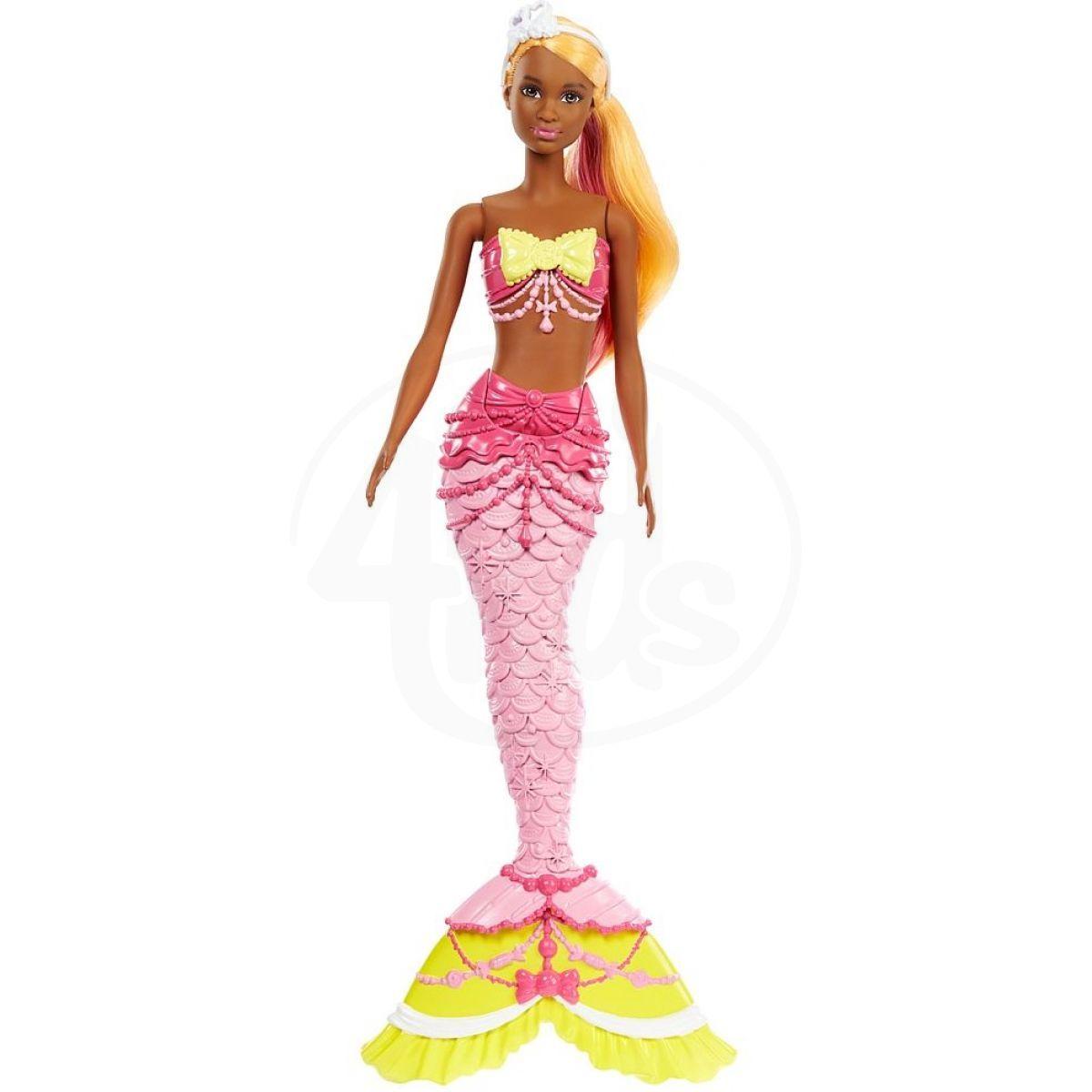 Mattel Barbie Mořská panna Oranžové vlasy