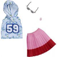 Mattel Barbie Oblečení s doplňky FXJ10