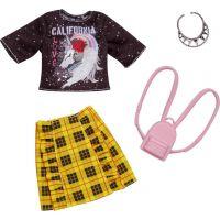 Mattel Barbie Oblečení s doplňky FXJ11