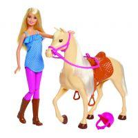 Mattel Barbie panenka s koněm